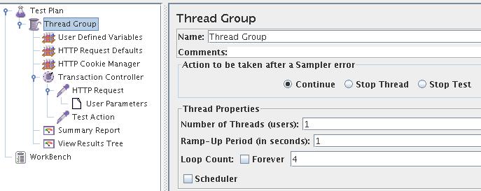 JMeter – Fixer la durée de répétition d'une requête
